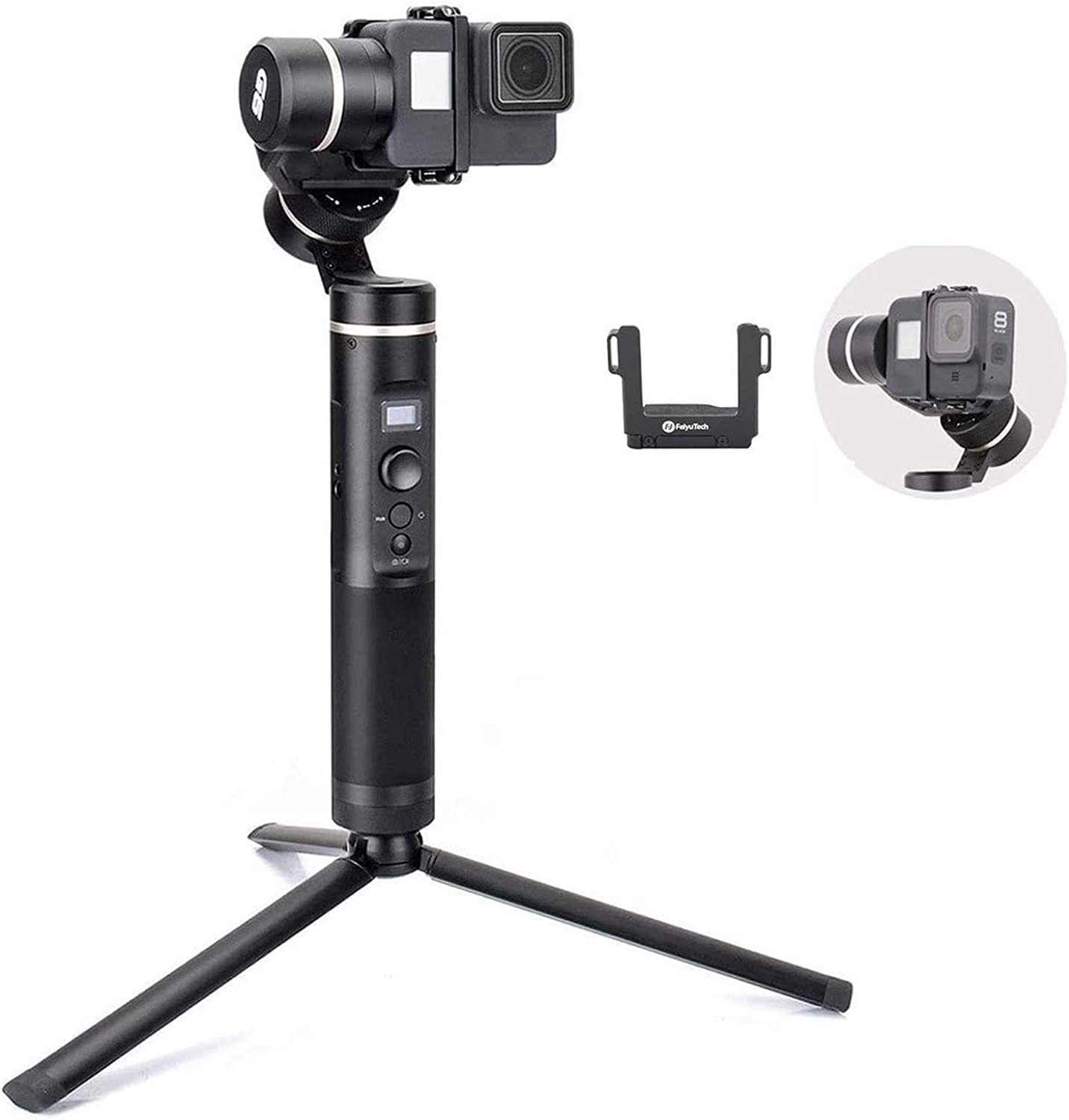 FeiyuTech FY Feiyu G6 3-Axis Splash Proof Handheld Gimbal Updated Version of G5