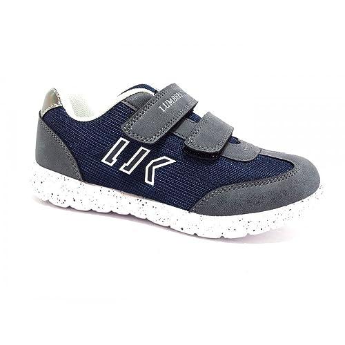 Lumberjack Sb07505-004 Sneakers Bambino Tessuto Blu Blu 32 zrClaHjcVf