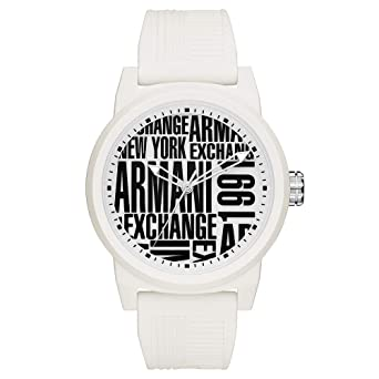 Relógio Masculino Armani Exchange Analógico Ax1442 8Bn Branco ... ba5fde1d60
