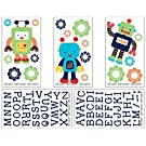 NoJo Baby Bots Wall Decals