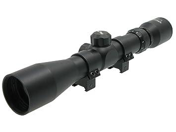 Walther zielfernrohr 3 9x40 mit weavermontage variablem zoom und