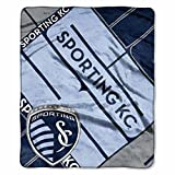 "MLS Sporting Kansas City Scramble Plush Raschel Throw, 50"" x 60"""