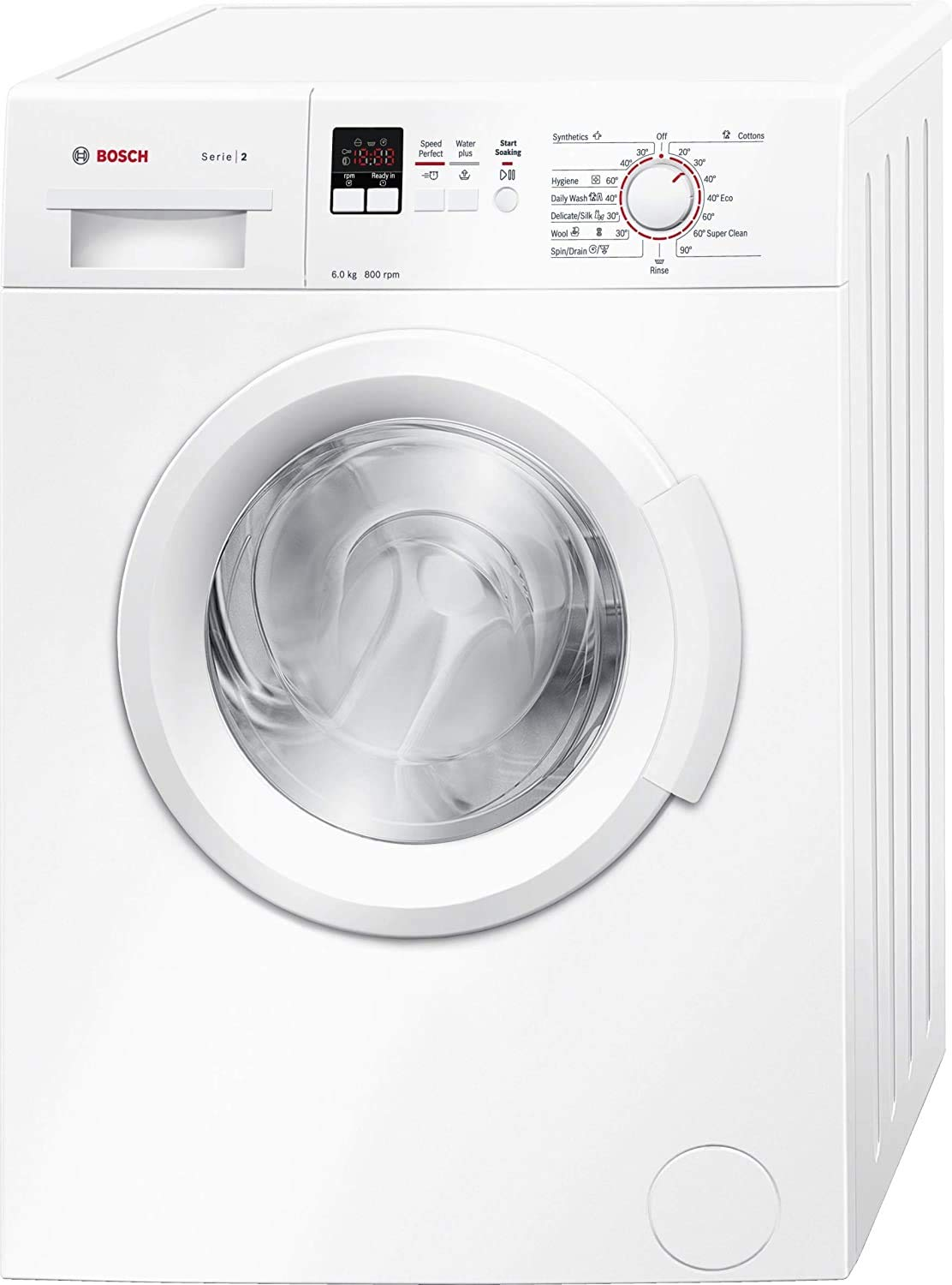 Bosch 6 kg 5 Star Inverter Fully Automatic Front Loading Washing Machine with In-built Heater