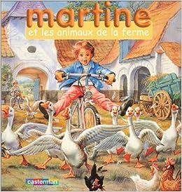 Martine Et Les Animaux De La Ferme Coffret Livre Jeu De
