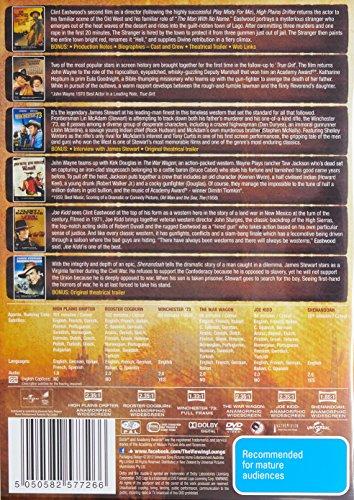 High Plains Drifter / Shenandoah / War Wagon / Winchester '73 | 6 Discs | NON-USA Format | PAL | Region 4 Import - Australia