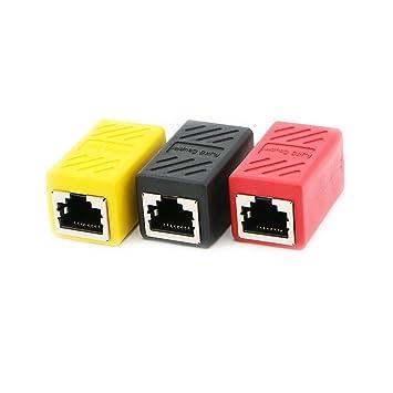 amazon com pasow rj45 coupler in line coupler cat6 cat5e cat5Ethernet Cable Connector Amazon #19