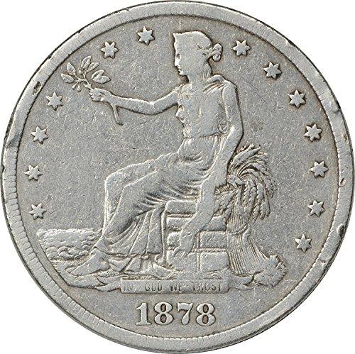1878 S Trade Dollar VG