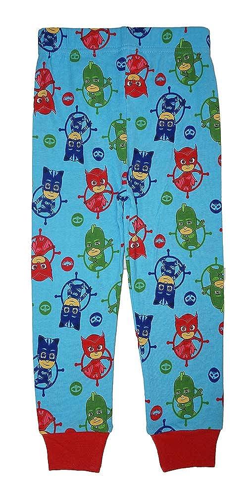 PJ Masks Little Boys Toddler Four-Piece Pajama Set 3T
