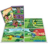 Dora the Explorer - Where is Tico? - Storybook Playset w/ 12 Figures (My Busy Books)