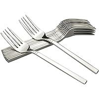 Fosly - Tenedores de mesa (12 piezas, acero