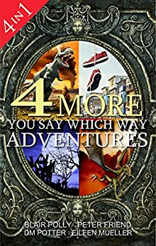 Box Set: Four More You Say Which Way Adventures: Dinosaur Canyon, Deadline Delivery, Dragons Realm, Creepy House by [Polly, Blair, Potter, DM, Friend, Peter, Mueller, Eileen]