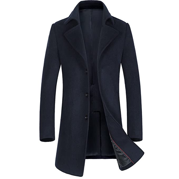 nihiug Chaqueta Informal De Abrigo para Hombre Warme Winterjacke Mantel Herren Winterjacke Outwear Chaqueta para Abrigo De Invierno para Hombre: Amazon.es: ...