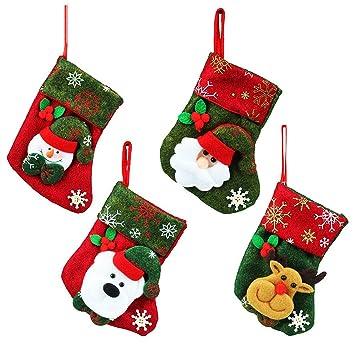 575a7d1072f ChristmasDay07 Adornos decoración para árbol de Navidad o Cubiertos de Mesa  - 4 Diseños navideños Diferentes