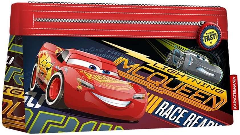 Cars 3 Estuche portatodo Plano, Color Rojo, 22 cm (Karactermanía 32459): Amazon.es: Juguetes y juegos