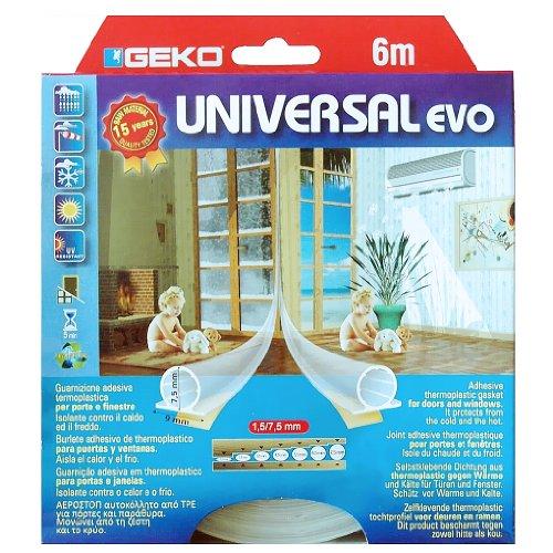 Dichtungsbänder universal selbstkl. EVO transparent 9x7x3000mm 2 St.