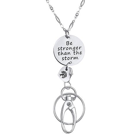 Amazon.com: Jetec - Cordón de cadena para llavero, diseño ...