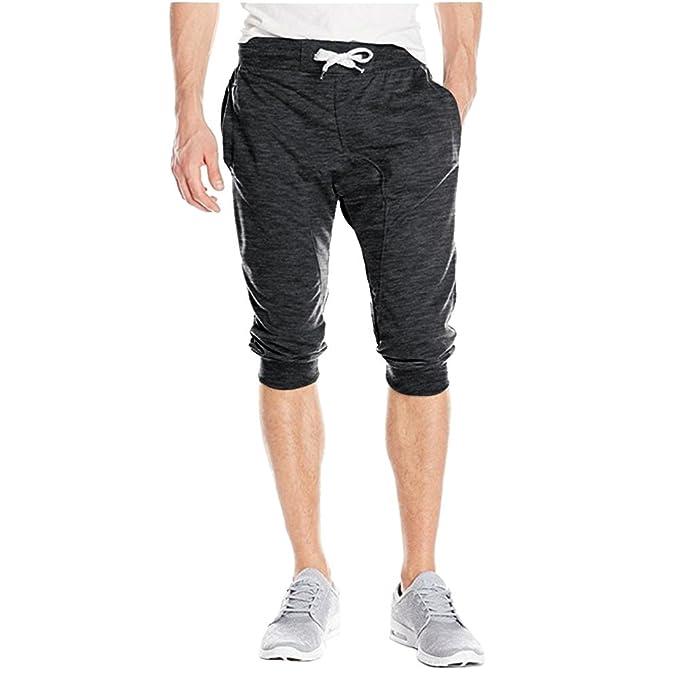10587c9a0e386f Bliefescher Hosen Herren Sommer Kurze Sport-Shorts Business-Shorts  Strandhosen mit Kordelzug  Amazon.de  Bekleidung