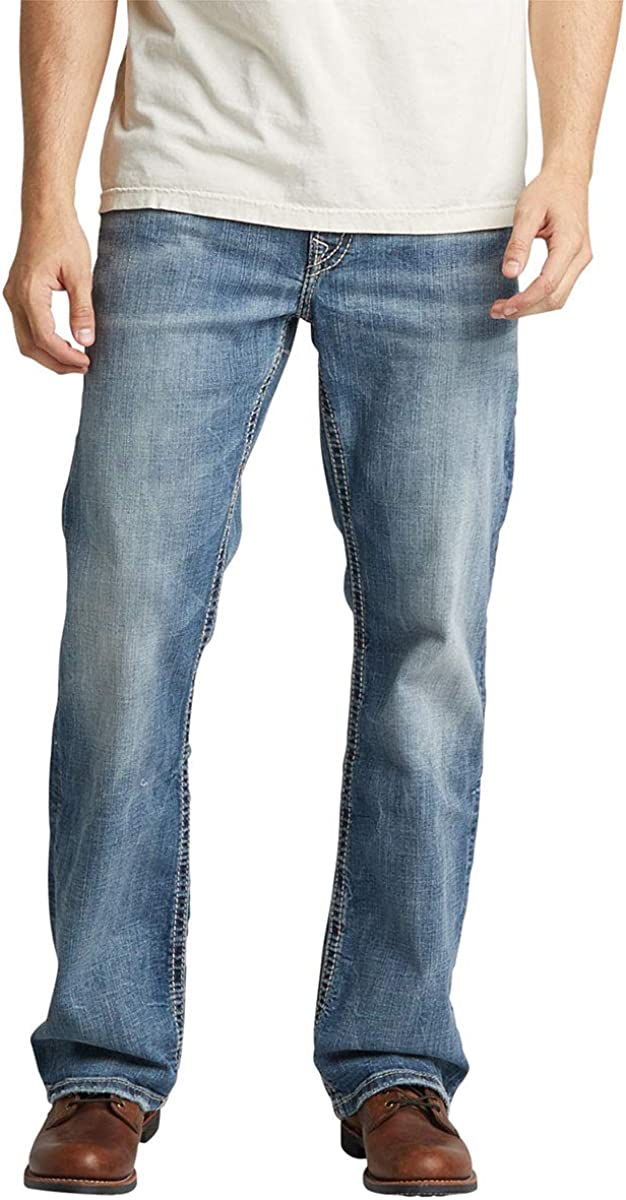 Silver half Jeans Co. Men's Easy Craig Fit Ranking TOP4 Bootcut