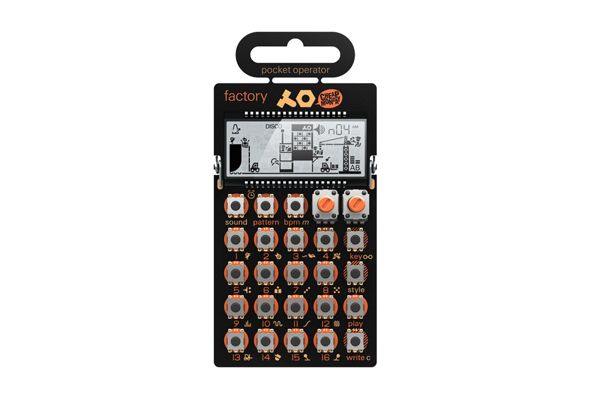 Teenage Engineering PO-16 Factory PO16 Factory (melody/lead)