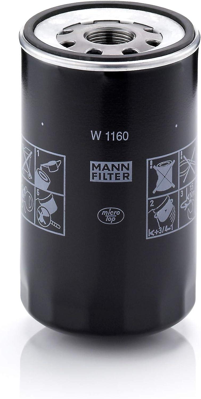 MANN-FILTER Original Filtro de Aceite W 950//4 Para autom/óviles y veh/ículos de utilidad