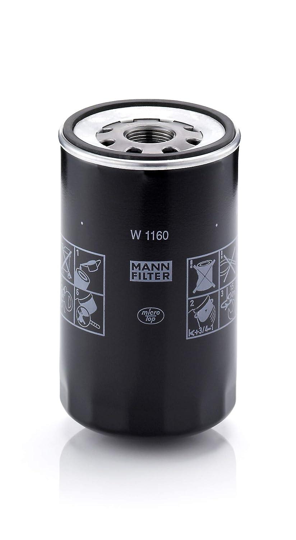 Mann Filter W 1160 -  Filtro Olio MANN & HUMMEL GMBH W1160