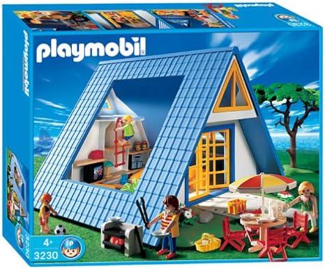 Playmobil - 8 - Les Loisirs - Famille maison vacances