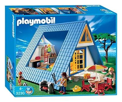 Playmobil plan de montage maison vacances ventana blog - Plan maison de campagne playmobil ...