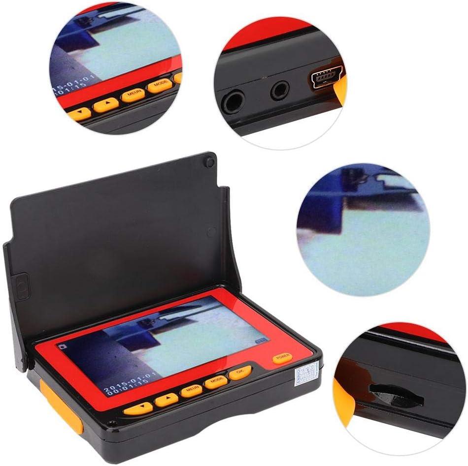 con Display LCD a 6 LED Endoscopio per Sistema Video Endoscopio per Ispezione di Tubi da 8,5 mm Telecamera di Ispezione Wireless 5M 4,3