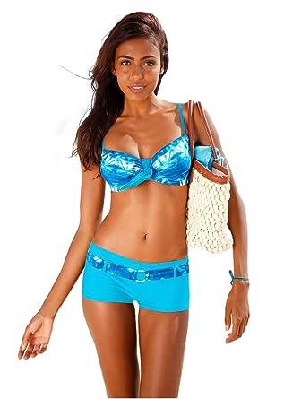 Sexy Rembourré Set 2 Maillot Wanyang Pieces De Push Up Bikini Femme wv8On0Nm