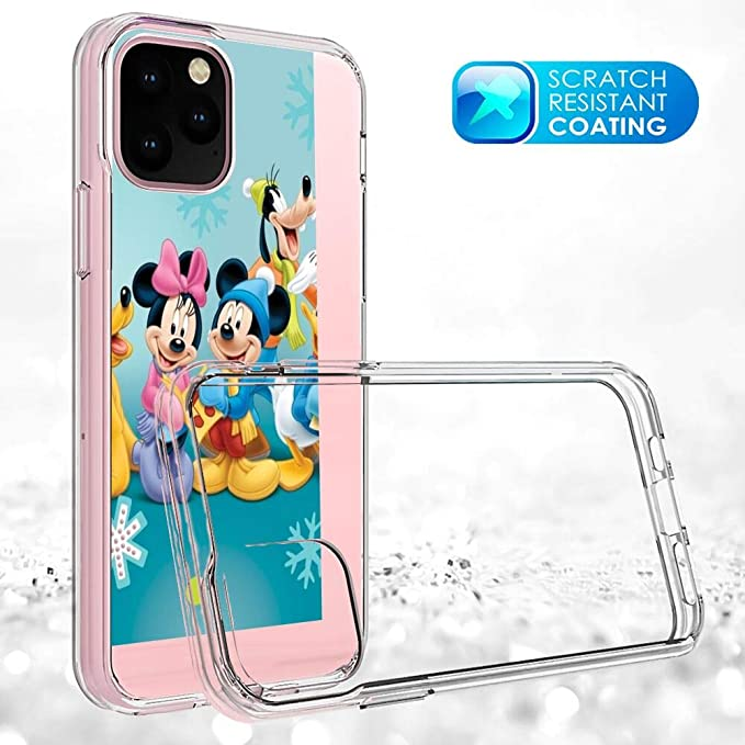 Disney Collection Clear Case Uv Printing Tpu Cover Iphone 11 Pro 5 8 Inch Goofy Mickey Mouse Minnie Donald Duck Pluto Desktop Wallpaper Hd Amazon In Electronics