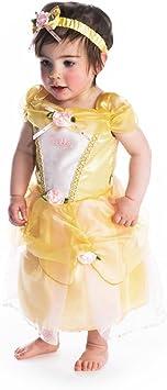 Disney Princesas Disfraz bebé, Color amarillo, 12-18 Meses (Travis ...