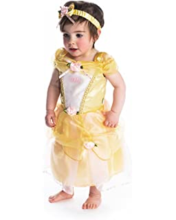 Officially Licensed Disney Princess Belle Baby Fancy Dress Onesie
