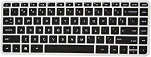 PcProfessional Black Ultra Thin Silicone Gel Keyboard Cover for HP Pavilion x360 [2015 Model] s099nr s120nr s192nr s199nr with Application Kit (Please Compare Keyboard Layout and Model)