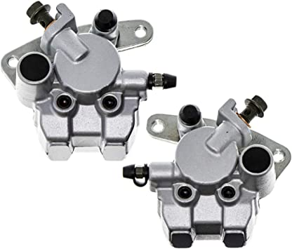 Pair Front Brake Caliper w// Pads for Yamaha ATV Grizzly 600 YFM 660,Raptor 660