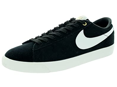 new concept 136d1 2319f Nike SB Blazer Low GT QS Black Sail Skate Shoes-Men 8.0, Women
