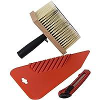 Empapelar Set 3-unidades - Cepillo cuchillo multiusos Universal
