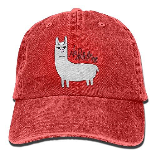 Llama Head Costume - GqutiyulU No Prob-Llama Adult Cowboy Hat Red