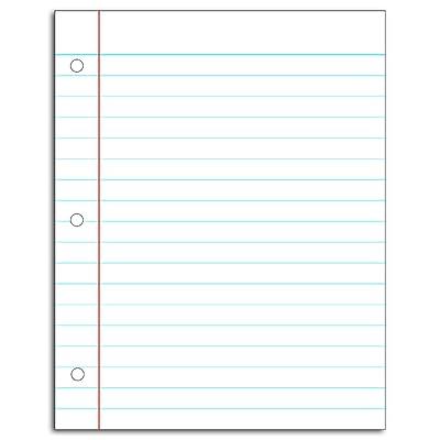 Carson Dellosa Notebook Paper Chart (8715): Toys & Games