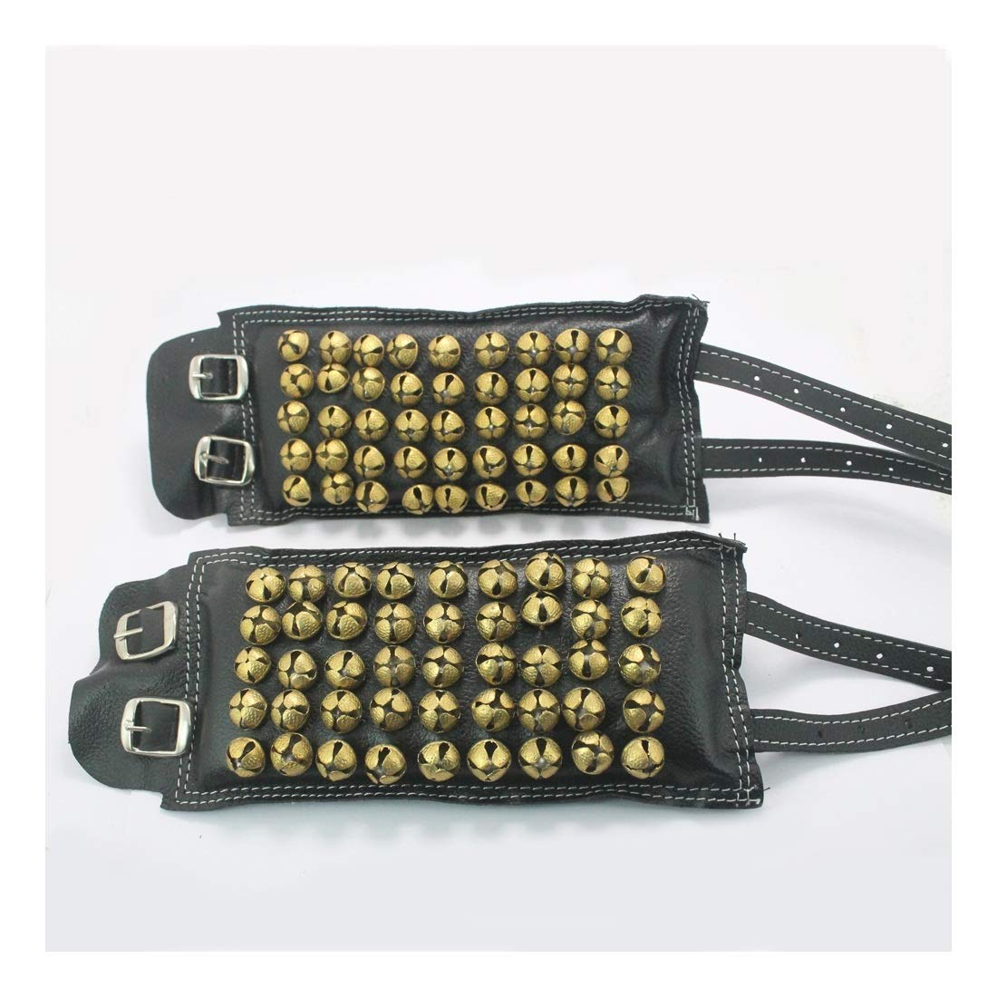 CHRISTMAS OFFER-17 Ankle Bell 5 Line Leather Ghungroo chalangai for all Indian classical dance