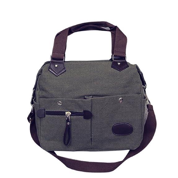 c72bb898ac6e Egmy® 2016 Women Men Vintage Canvas Satchel Handbag Crossbody Casual  Shoulder Bag