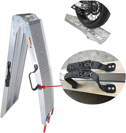 Roboraty Rampas Plegables para sillas de Ruedas, aleación de