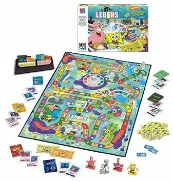 Hasbro 42454100 Spiel Des Lebens Spongebob Amazonde Spielzeug