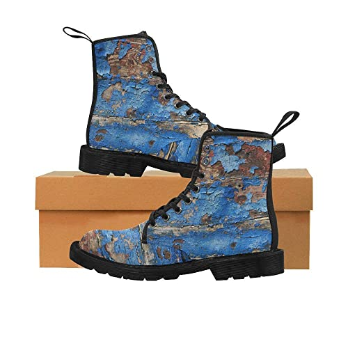 a0dd152d364a Amazon.com  Vintage Dr Doc Martens Inspired Boots Distressed Wood ...