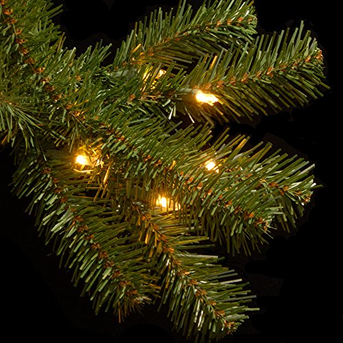 National Tree 7.5 Foot North Valley Spruce Tree with 550 Clear Lights, Hinged (NRV7-300-75) by National Tree Company (Image #5)