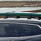 Spec-D Tuning For Honda Pilot Black Aluminum Roof