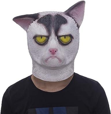 Black Halloween Grumpy Cat
