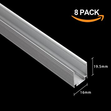 Amazon 1m33ft aluminum channel track for led neon rope light 1m33ft aluminum channel track for led neon rope light installation by shine decor mozeypictures Choice Image
