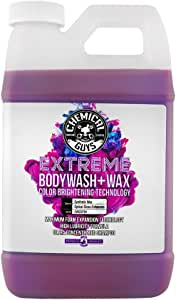 Chemical Guys CWS20764 Extreme Bodywash & Wax Car Wash Soap with Color Brightening Technology, 64. Fluid_Ounces