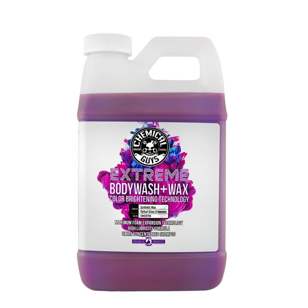 Chemical Guys CWS20764 Extreme Bodywash & Wax Car Wash Soap with Color Brightening Technology, 64. Fluid_Ounces by Chemical Guys (Image #1)