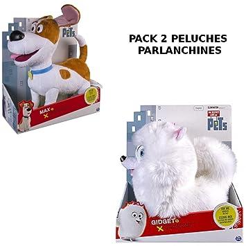 PETS PELUCHE HABLADOR PACK 2 MASCOTAS